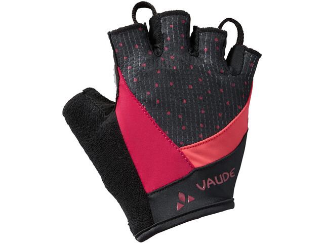 VAUDE Advanced II Handschoenen Dames, crimson red